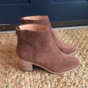 Madewell Pauline ankle boot